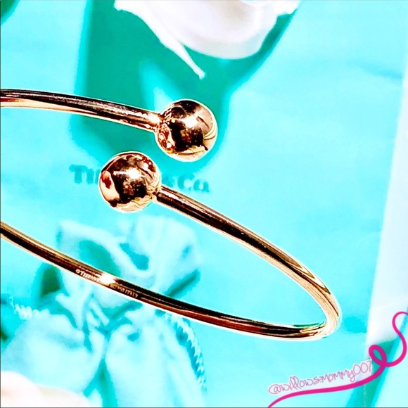 a4327ade2 Tiffany & Co. Jewelry | Tco Hardwear 18k Rose Gold Ball Bypass ...